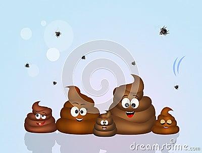Family of poop