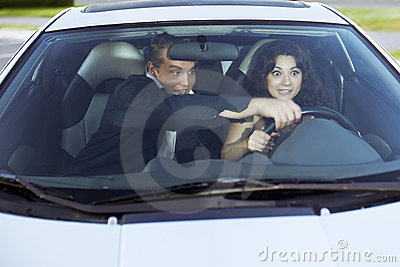 Family quarrel driving