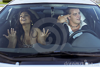 Family quarrel driving