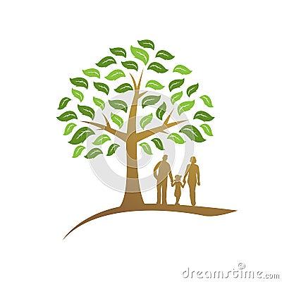 Free Family Reborn Tree Icon Stock Image - 84875331