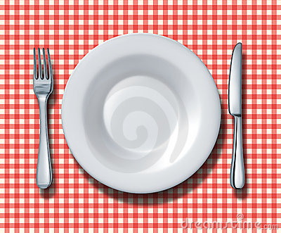 Family Restaurant Place Setting
