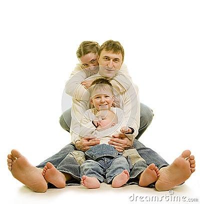 Free Family S Heels Stock Photography - 4441252