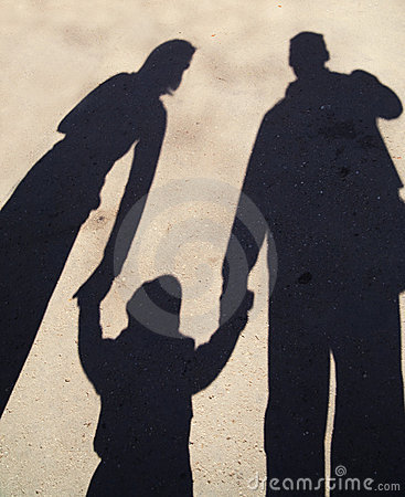 Free Family Shadow Silhouette Stock Photography - 19892832