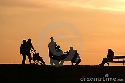 FAMILY SILHOUETTES 2