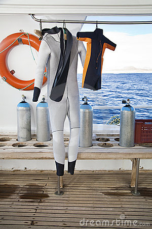 Family Sport: Diving Suits for Parent and Child