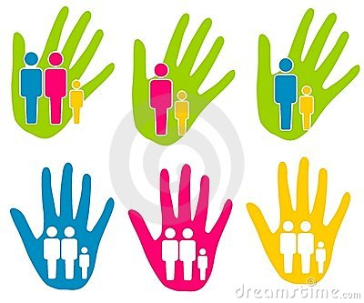 Family Support Assistance Clip Art