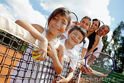 Family of tennis players