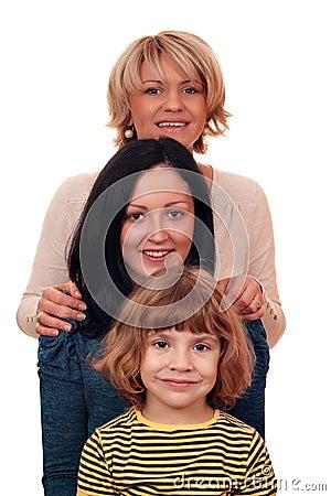 Family three generation