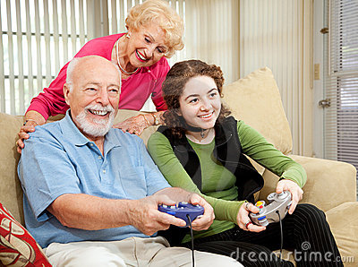 Family Time with Grandparents