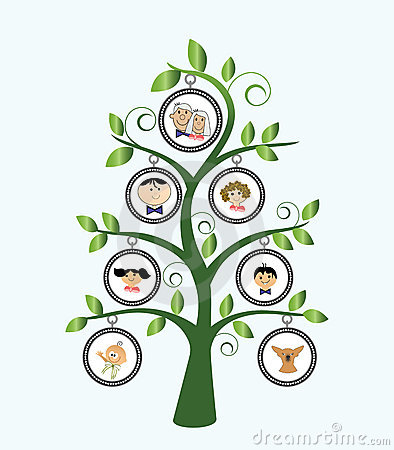 Free Family Tree Royalty Free Stock Image - 13907096