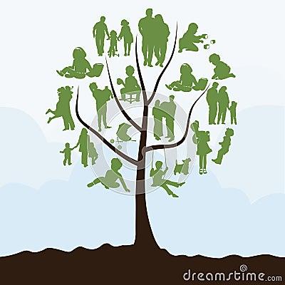 Free Family Tree Stock Image - 20026471