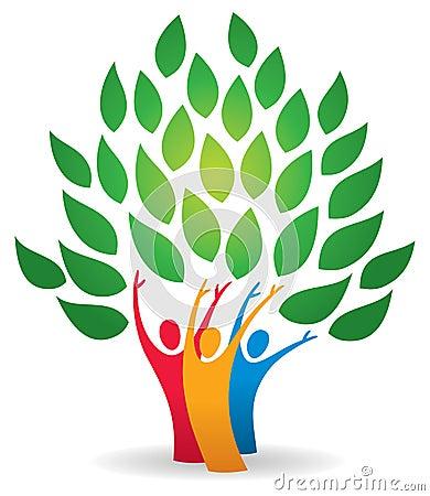 Free Family Tree Logo Royalty Free Stock Image - 35074196