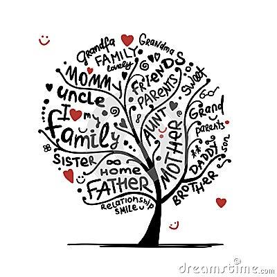 Family Tree Logo,family Heart Tree Symbols,parent,kid,parenting ...