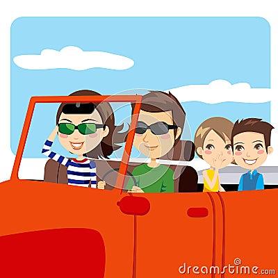 Family Trip Car