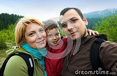 Family trip snapshot