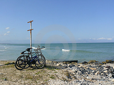 Bike trip to beach