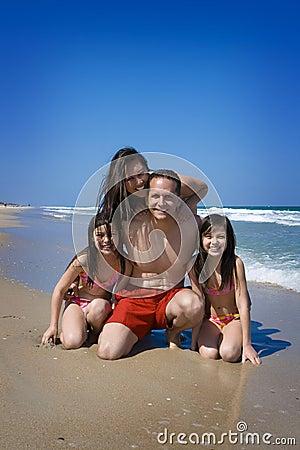 Free Family Vacation Royalty Free Stock Photo - 4881925