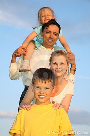 Free Family With Children Stock Photography - 2557662