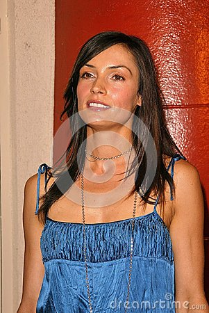 Famke Janssen Editorial Stock Image