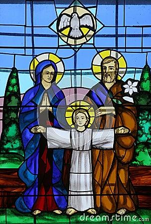 Família santamente