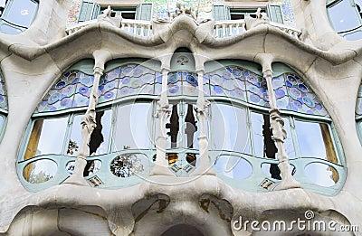 A famous balcony
