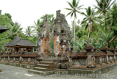 Famous Bali landmark