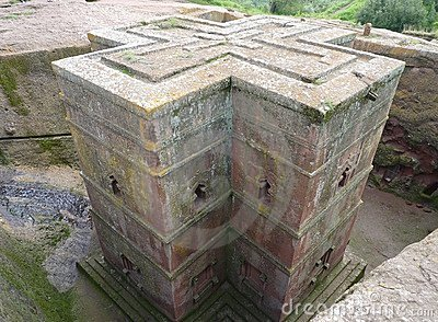 Famous beautiful Ethiopian church