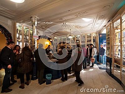 Famous Belem Lisbon Cafe Editorial Photo