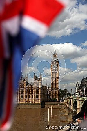 Famous Big Ben in London