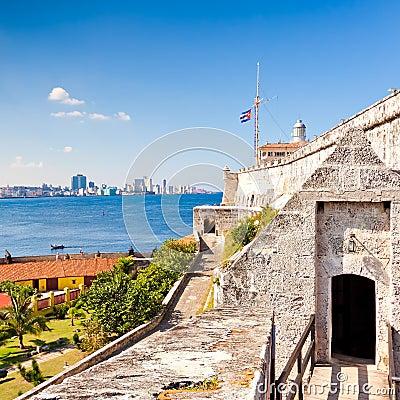 The famous castle of El Morro in Havana