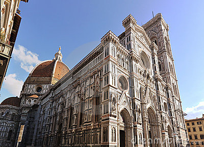famous cathedral in Florence, Italy
