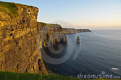 Famous cliffs of moher county clare, ireland