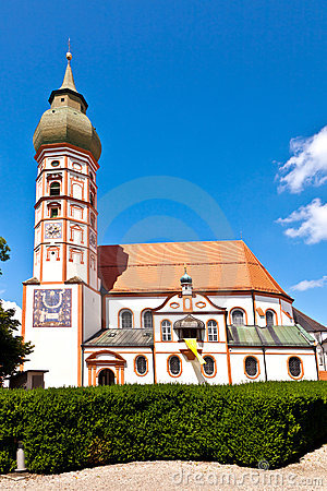 Free Famous Cloister Of Andechs Stock Photo - 20709790