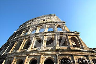 Famous Colosseum or Coliseum