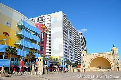 Famous Daytona Beach Florida Editorial Stock Photo