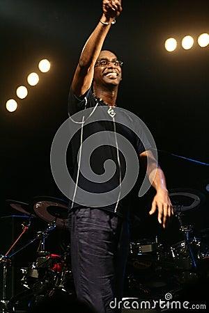 Drummer artist Omar Hakim Editorial Stock Image