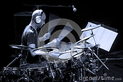 Drummer artist Omar Hakim Editorial Photography