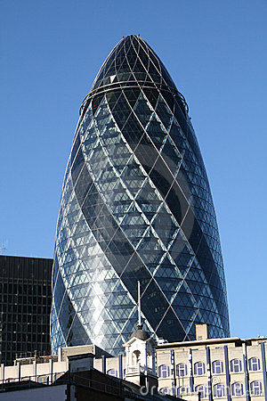 The famous Gherkin in London