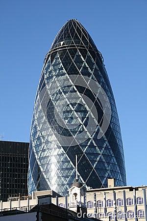 The famous Gherkin in London