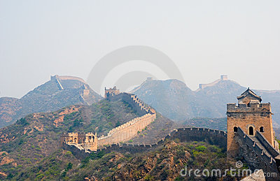 Famous great wall at Simatai