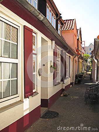Famous hallway in Lubeck