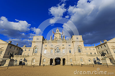 The famous Horse Guards Parade Stock Photo