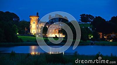 Famous irish castle hotel,west coast ireland