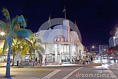 Famous Jerrys Deli in South Miami Editorial Stock Photo