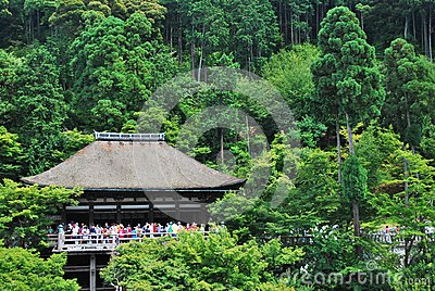 Famous Kiyomizu Temple