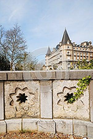 Famous landmark of Pau