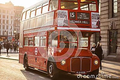 Famous London Red Bus  Free Public Domain Cc0 Image