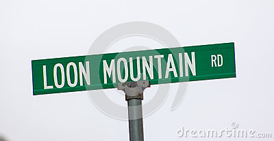 Famous Loon Mountain Road. Editorial Image