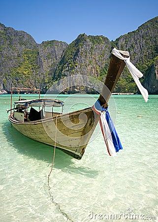Famous Maya bay
