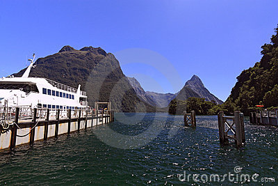 Famous Milford Sound and Mitre Peak